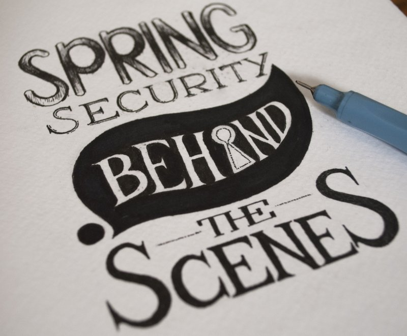 Spring Security - Behind the Scenes