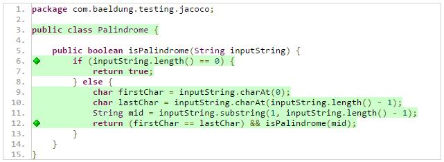 Intro to JaCoCo   Baeldung
