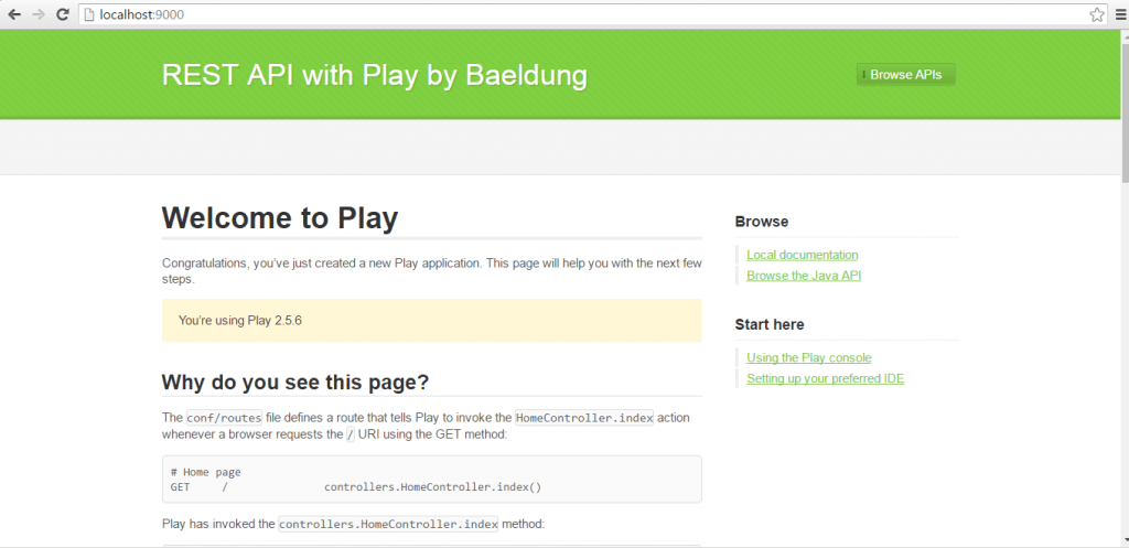 Introduction To Play In Java | Baeldung