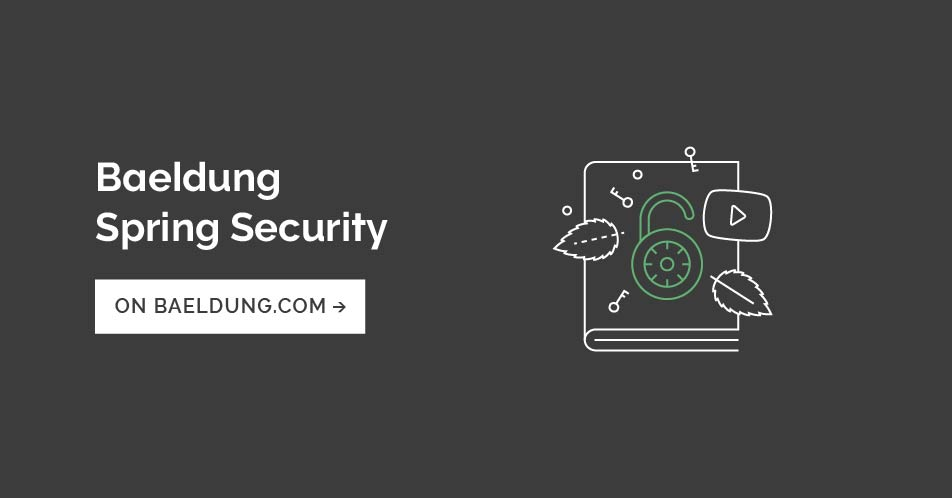 A Custom Security Expression with Spring Security | Baeldung