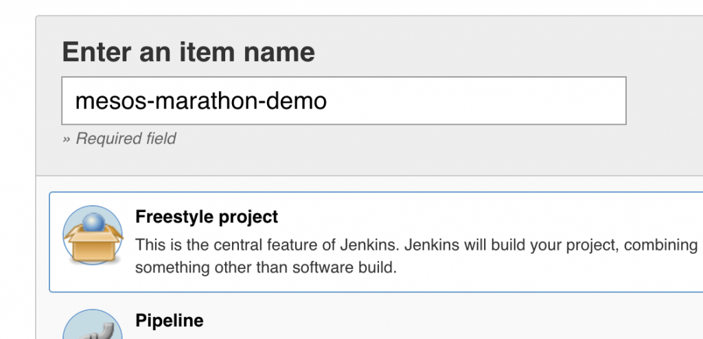 Simple Jenkins Pipeline with Marathon and Mesos | Baeldung