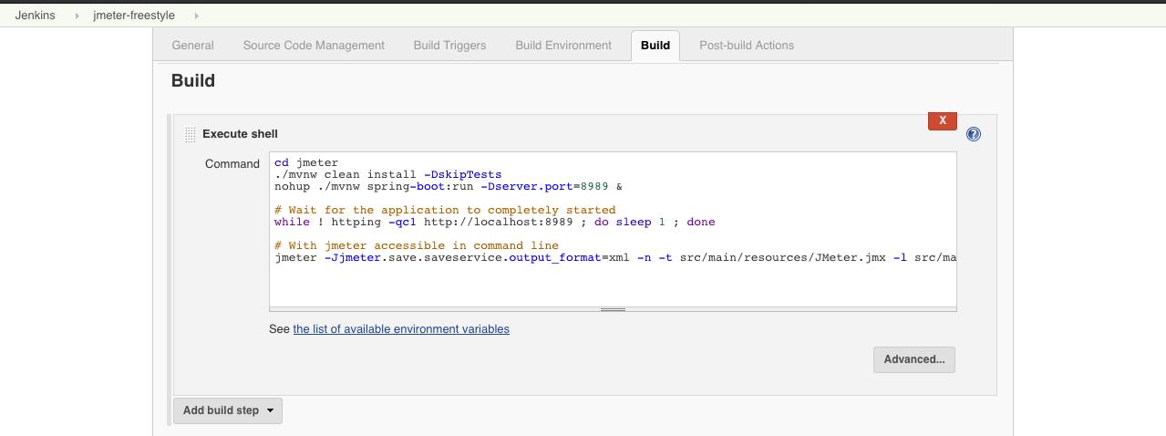 Configure Jenkins to Run and Show JMeter Tests   Baeldung