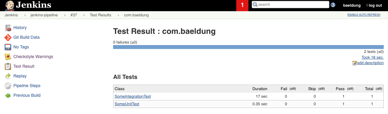 Intro to Jenkins 2 and the Power of Pipelines | Baeldung
