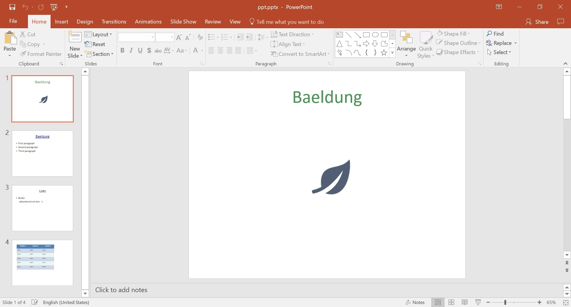 Creating A Ms Powerpoint Presentation In Java Baeldung