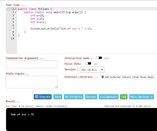 Online Java Compilers | Baeldung